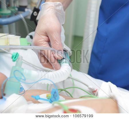 Respiratory Care Under The Doctors Supervision In The Icu