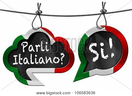 Parli Italiano - Speech Bubbles