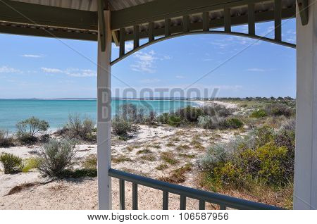 Tranquility: Indian Ocean View from a Gazebo