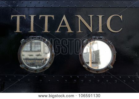 Titanic Visiting Centre In Cobh