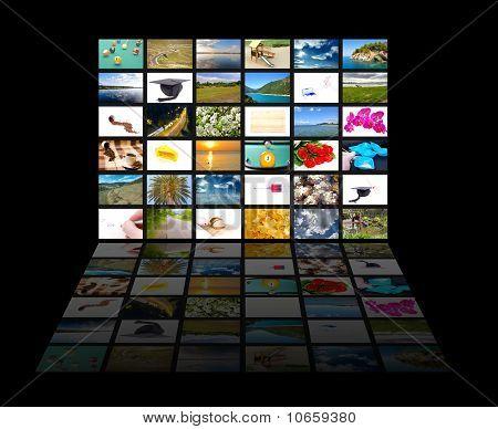 Multimedia Screen