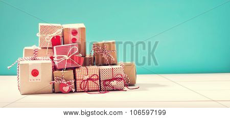 Collection Of Little Handmade Gift Boxes