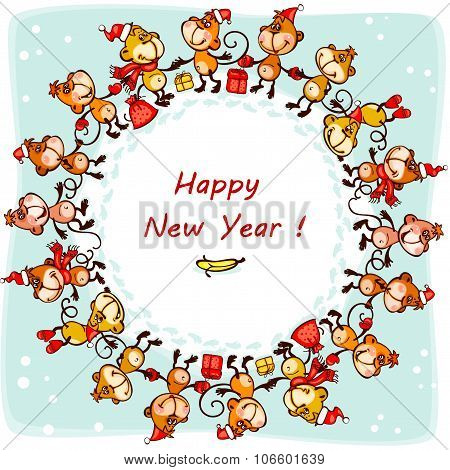 2016 New Year's card