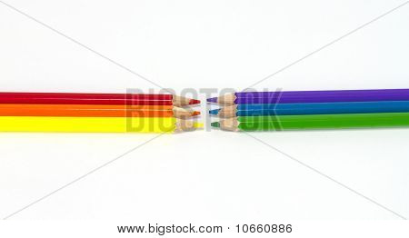 Six basic colors.