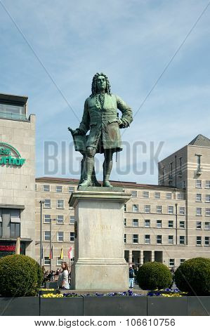 Monument To George Frideric Handel, Halle (saale), Germany