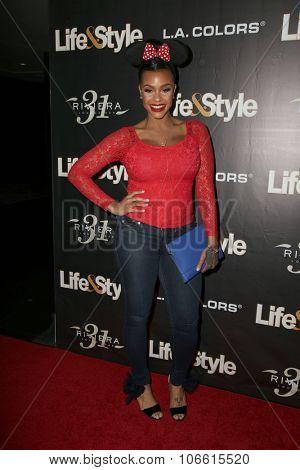 LOS ANGELES - OCT 29:  Masika Kalysha at the Life & Style Weekly's