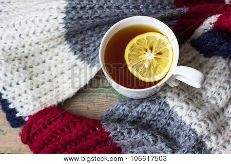 Tea With Scarf