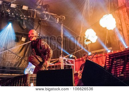 Slipknot live at Soundwave Festival, Brisbane 2015
