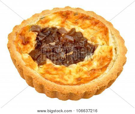 Caramelised Onion And Cheese Quiche