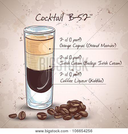 Cocktail B 52