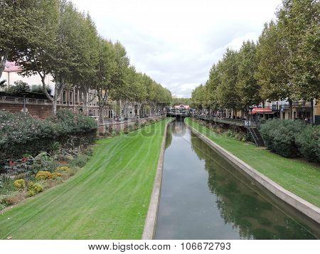 River in Perpignan