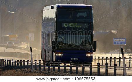 E-ROAD 4, SWEDEN ON APRIL 12