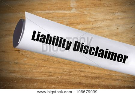 Liability Disclaimer