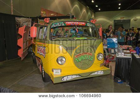 Teenage Mutant Ninja Turtle Van