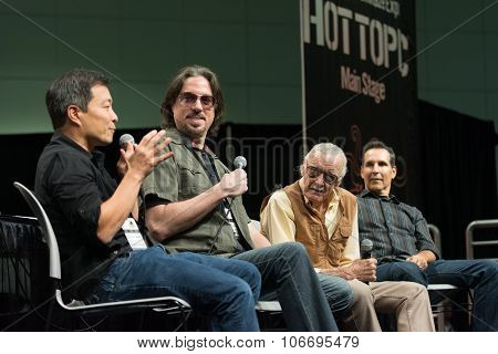 Jim Lee, Marc Silvestri, Stan Lee And Todd Mcfarlane