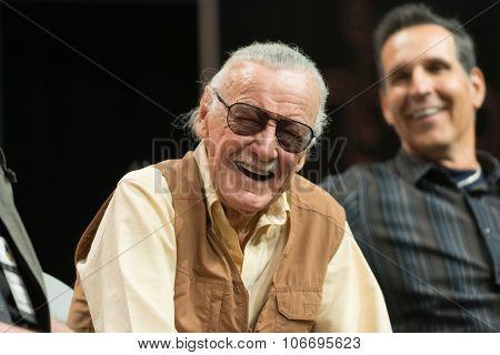 Stan Lee American Comic Book Writer