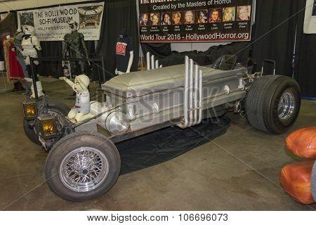 Drag-u-la Coffin Car