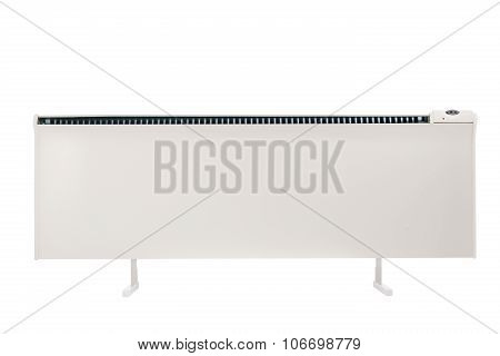 Electric Forced Convection Heater Isolated On White With Clipping Path