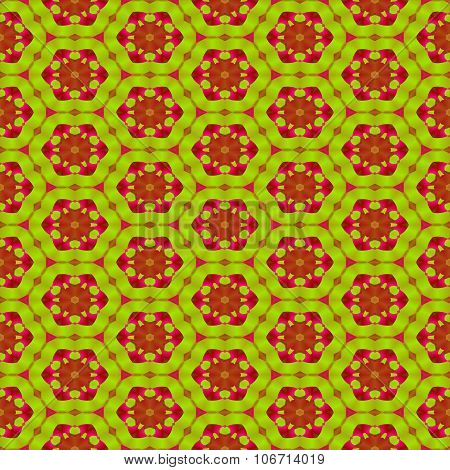 Abstract decorative floral seamless colorful wallpaper