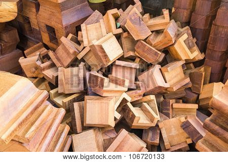 Wooden Building Components