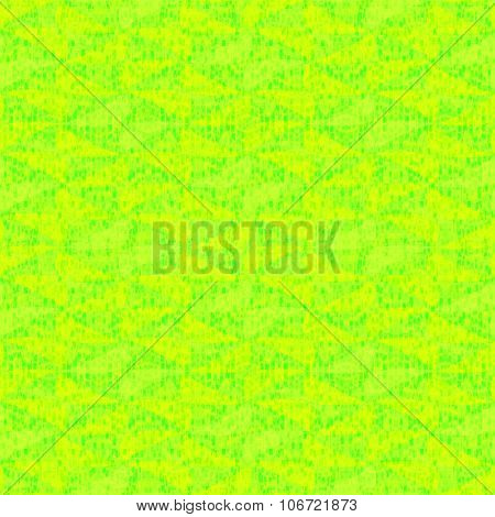Abstract geometric yellow decorative tile
