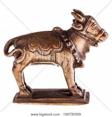 Bronze Cow