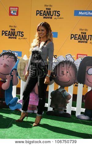 LOS ANGELES - NOV 1:  Jennifer Freeman at the