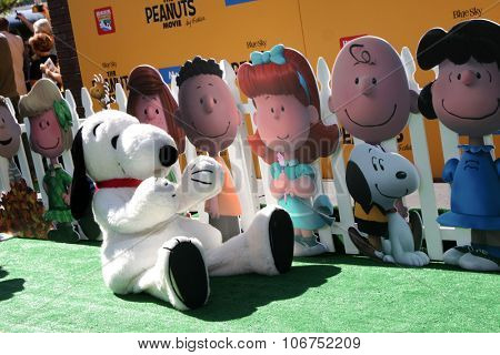 LOS ANGELES - NOV 1:  Snoopy at the