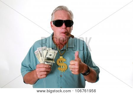A man with money. A man wins money. A man has Money. A man Sniffs Money. A man Loves Money. A man and his money. A man is Rich. A rich man. A man wins the lottery. A man gets paid.