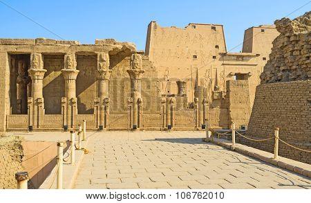 The Mammisi Of Edfu
