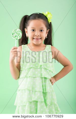 Girl with sugarplum