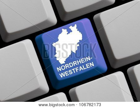 Computer Keyboard - German Federal State Nordrhein-westfalen