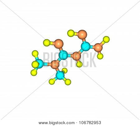 Metformin is an oral antidiabetic drug in the biguanide class. It is the first-line drug of choice for the treatment of type 2 diabetes. 3d illustration