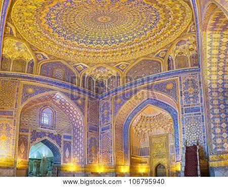 The Mosque Interior