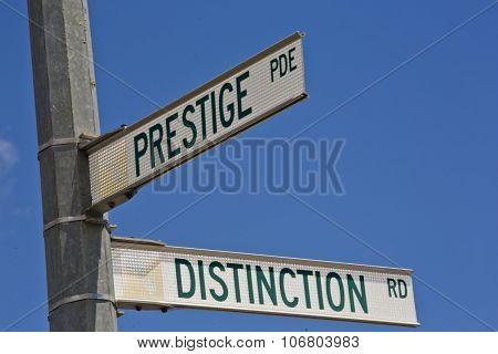 Prestige and Distinction