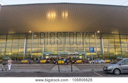 Terminal T1 Of El Prat-barcelona Airport