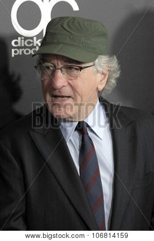 LOS ANGELES - NOV 1:  Robert De Niro at the 19th Annual Hollywood Film Awards at the Beverly Hilton Hotel on November 1, 2015 in Beverly Hills, CA