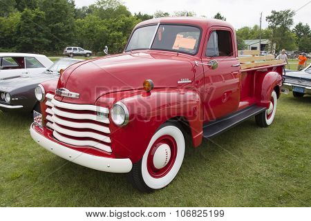 1953 Chevy Truck Side View