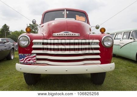 1953 Chevy Truck Front View