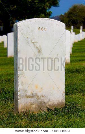 Headstone 666