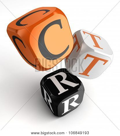 Click Through Rate, Ctr, Business Concept Acronym
