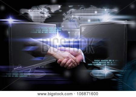 Digital Planet, Business World Wide Internet Network Online.