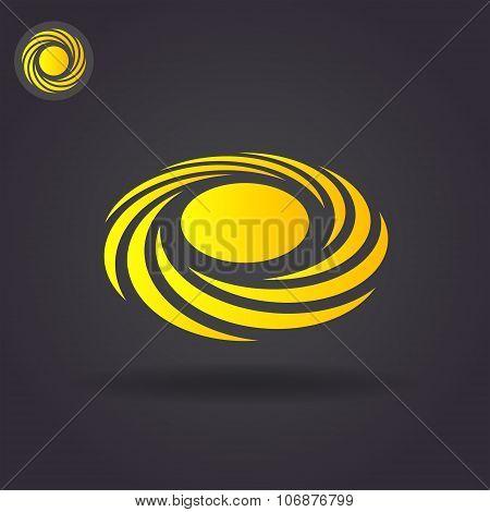 Spiral Cyclone Concept Logo
