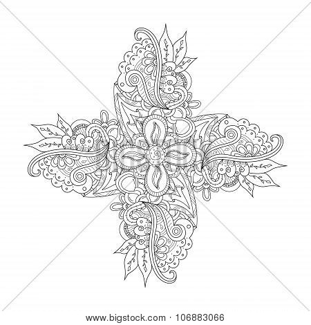 Abstract Hand Drawn Ornament
