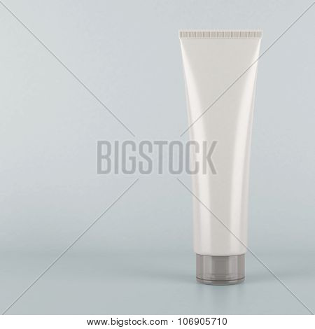 White tube mockup