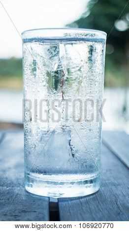 Glass Of Very Cold Water