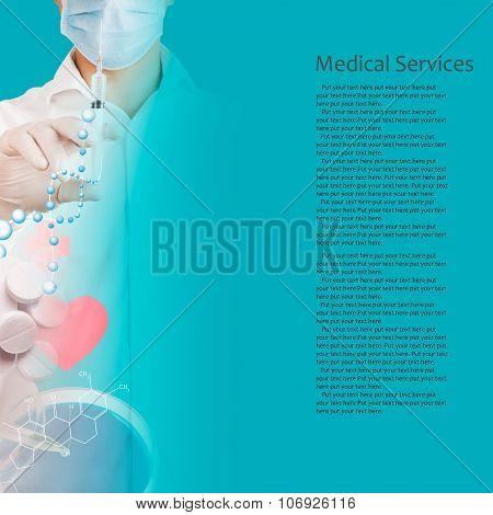 Doctor Uses Syringe
