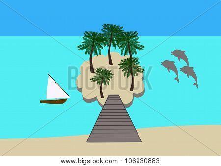 Tropical Island Hideaway