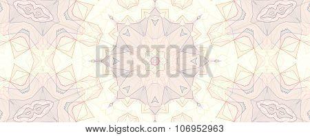 Pattern Of Macro Marigold Orange Flower