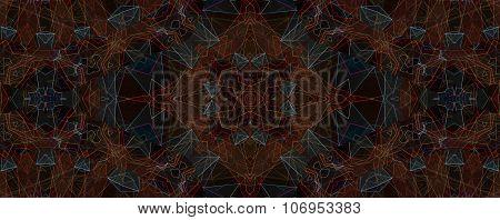 Abstract Colorful Seamless Pattern Kaleidoscope